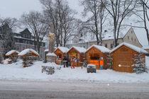 Weihnachtsmarkt Oberwiesenthal by Gerhard Köhler