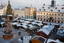 Weihnachtsmarkt in Annaberg by Gerhard Köhler