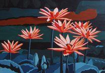 Blüten im Teich by Marion Sehr