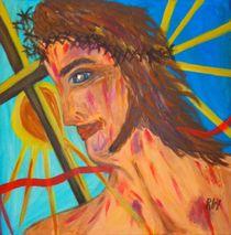 BLUTENDER JESUS von Ingrid Witkowitsch
