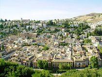 Blick auf Granada by Ronja Treffert