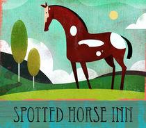 Spotted Horse Inn  von Benjamin Bay