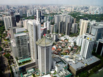 Singapore Skyline von James Menges