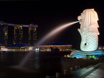 Singapore Merlion von James Menges