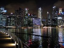 Marina Bay Singapore Night von James Menges