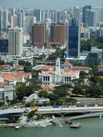 Singapore Skyline Waterfront von James Menges