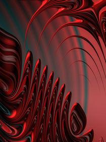 Fraktal Design rot und schwarz by Matthias Hauser