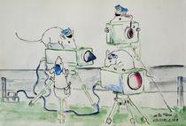 Weiße Mäuse von Eike Holtzhauer