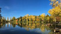 Sindelfingen Klostersee im Herbst von Matthias Hauser