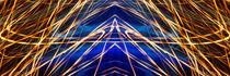 Panorama Light Painting Abstract UFA 2015 #1 von John Williams