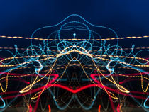 Lightpainting Abstract Symmetry UFA Prints #6 von John Williams