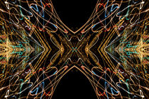 Lightpainting Abstract Symmetry UFA Prints #15 von John Williams