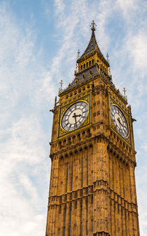 Big Ben and sky in detail von wsfflake