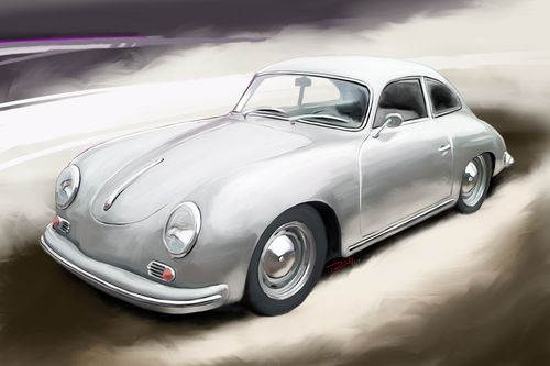 Porsche-356-a-coupe-silber