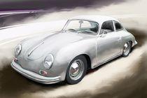 Porsche 356 A Coupe von rdesign