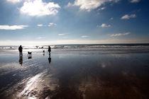 Winter beach von Steve Ball