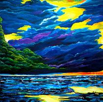 Wolken und Meer von Eberhard Schmidt-Dranske