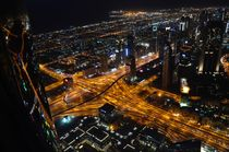 Dubai intersection by Vincent Wolgast