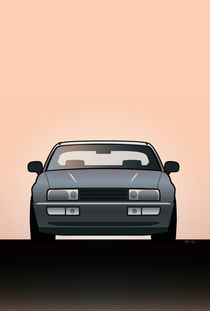 Modern Euro Icons Series Vw Corrado Vr6 by monkeycrisisonmars