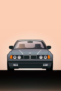 Modern Euro Icons Series Bmw E32 740i by monkeycrisisonmars