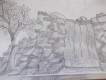 Wasserfall by Peggy Gennrich