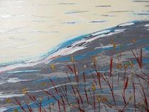 Gräser auf dem Berg by Peggy Gennrich