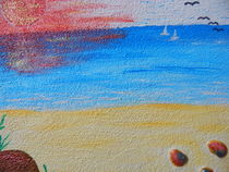 Sonnenuntergang am Meer by Peggy Gennrich