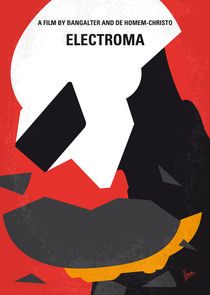 No556 My Electroma minimal movie poster von chungkong