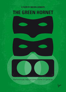 No561 My The Green Hornet minimal movie poster von chungkong