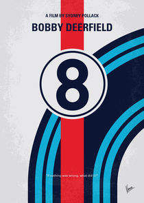 No565 My Bobby deerfield minimal movie poster von chungkong