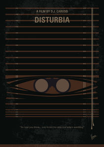 No457 My Disturbia minimal movie poster von chungkong