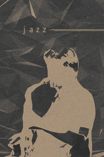 Jazz Music Poster von cinema4design