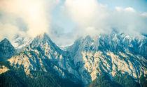 Alpen schroffe Felsen von Ruby Lindholm