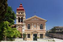 Panagia Mandarina Kirche Korfu von Norbert Probst