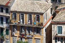 Malerisches Haus in Korfu Altstadt von Norbert Probst
