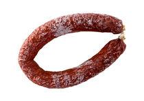 Chorizo Wurst als Freisteller isoliert von wsfflake