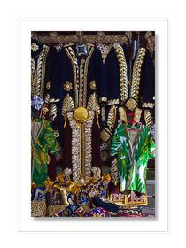Asiatische  Motive, Kleidung,  Farbe,ornament by Wladimir Zarew