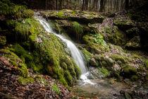Latvian waterfall von Janis Upitis