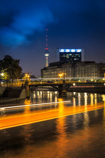 Berlin City View by Denis Wieczorek