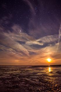 Sternennacht von Cuxhafen von Denis Wieczorek