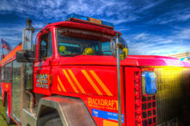 Backdraft Fire Truck von David Pyatt