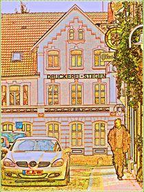 ~Colorful Lane Road ~ von Sandra  Vollmann