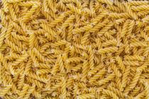 Fussili Nudel macro als Hintergrund Struktur von wsfflake