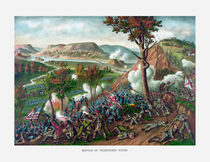 Battle of Missionary Ridge -- Civil War by warishellstore
