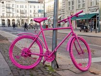 The very pink bicycle by Nicole Bäcker