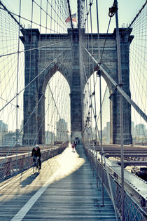 Brooklyn Bridge New York City, Manhattan by Thomas Schaefer