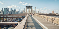 Brooklyn Bridge New York / Manhattan  by Thomas Schaefer