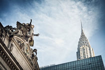 New York / Grand Central and Chrysler Building von Thomas Schaefer