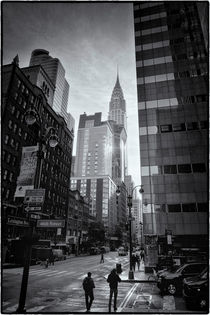 New York Midtown Manhattan and Chrysler Building by Thomas Schaefer