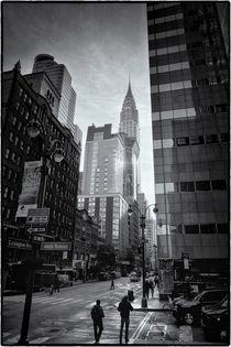 New York Midtown Manhattan and Chrysler Building von Thomas Schaefer
